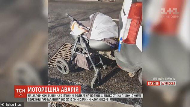 Đặt con trai 3 tháng tuổi trên xe đẩy qua đường, bà mẹ kinh hồn bạt vía khi thấy con bị húc tung lên trời - Ảnh 7.