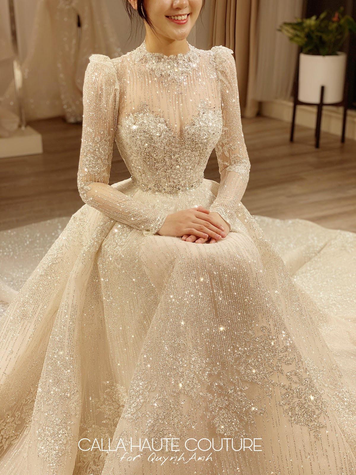 """NTK Phương Linh gây bất ngờ cho """"công chúa béo"""" của Duy Mạnh khi váy cưới đẹp hơn cả bản thiết kế - Ảnh 2."""