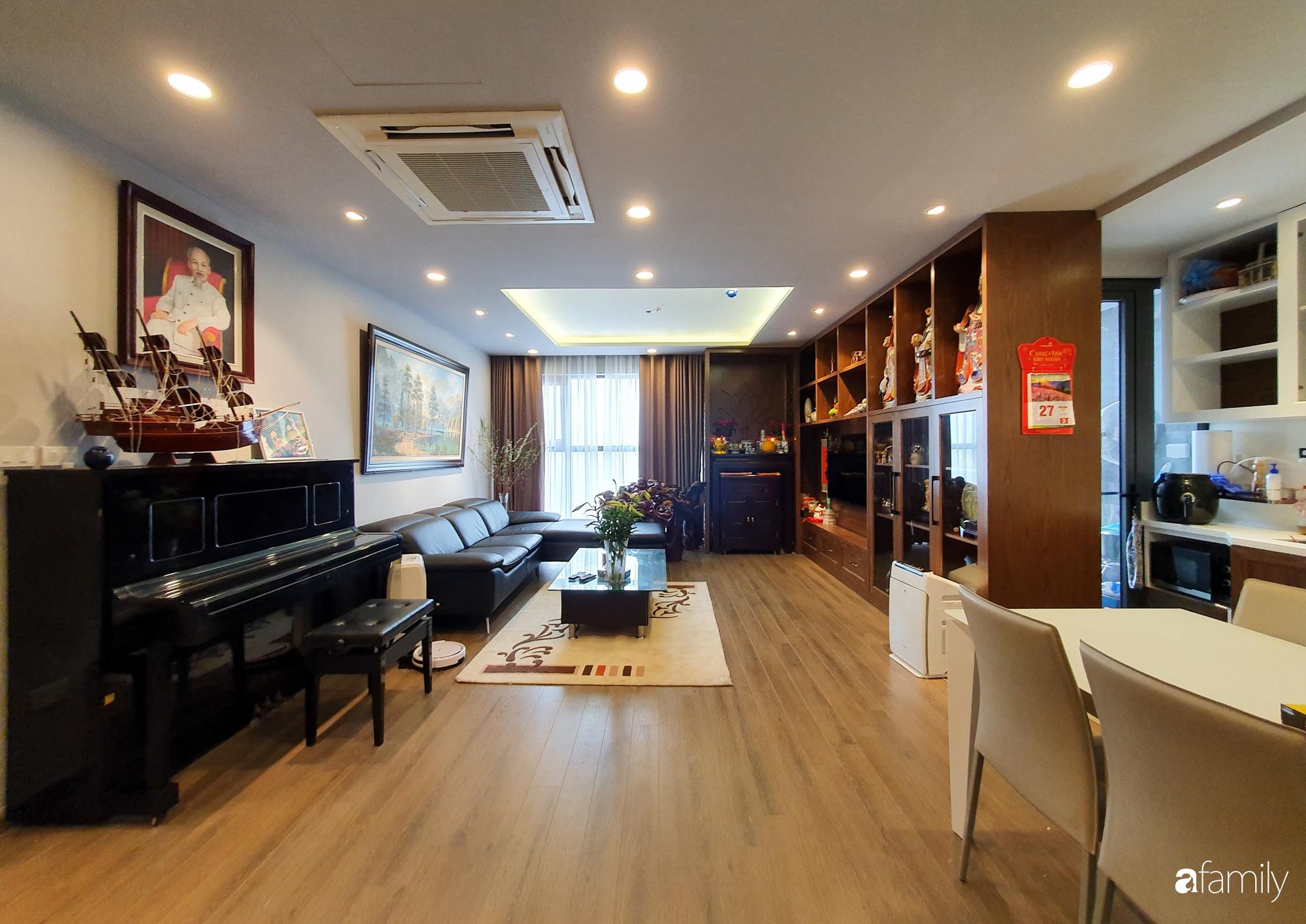 Căn hộ 116m2 hoàn thiện nội thất chưa đầy 1 tháng vẫn đẹp hiện đại, nền nã ở Cầu Giấy, Hà Nội - Ảnh 5.