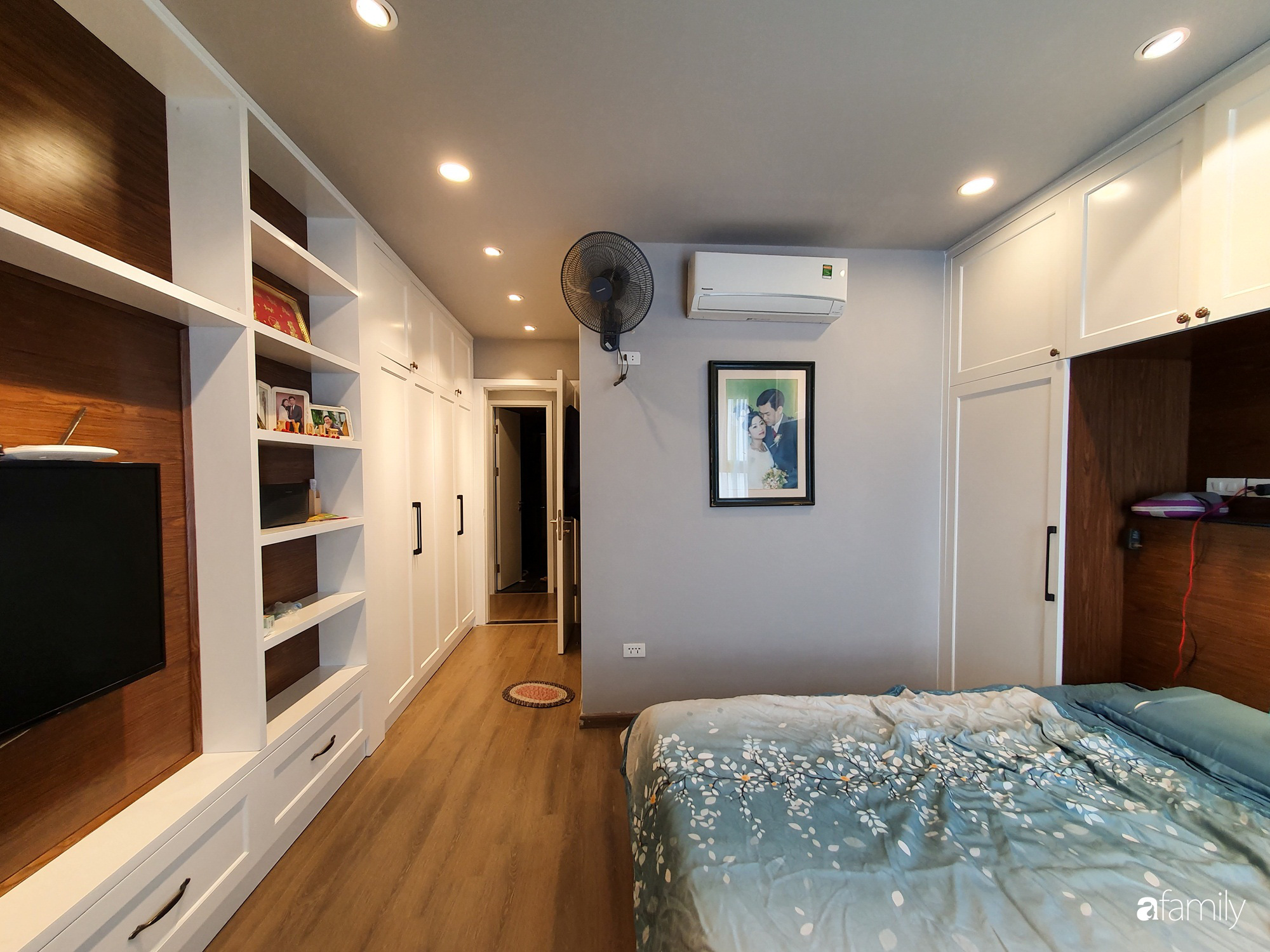 Căn hộ 116m2 hoàn thiện nội thất chưa đầy 1 tháng vẫn đẹp hiện đại, nền nã ở Cầu Giấy, Hà Nội - Ảnh 11.
