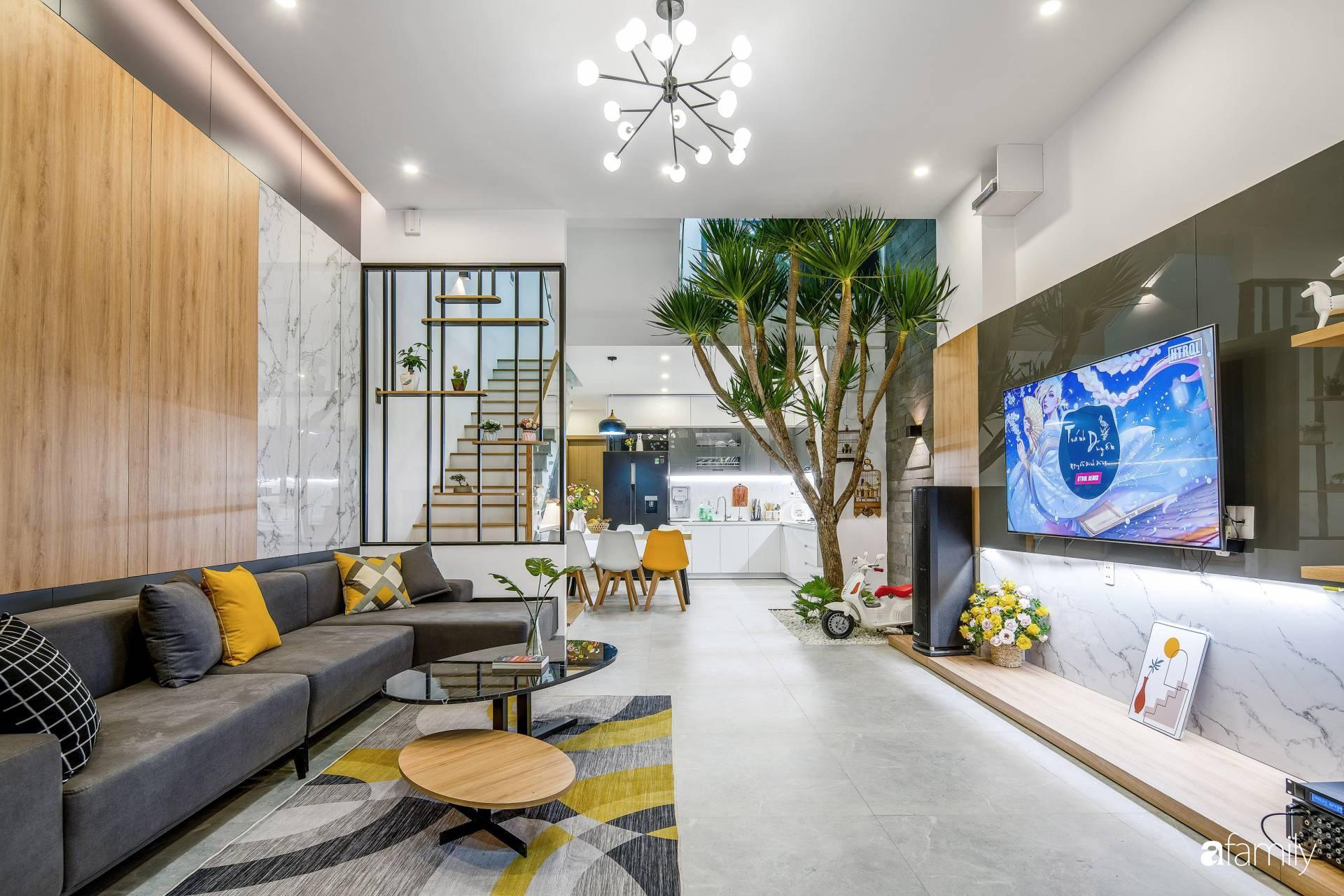 Ngôi nhà 100m2 thiết kế thông minh, tiện lợi dành cho gia đình 3 thế hệ ở Đà Nẵng - Ảnh 7.