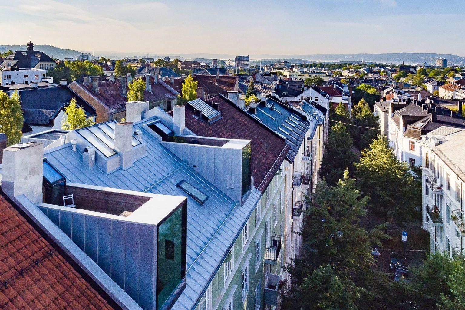 Biến hó gác xép cũ ở thành phố Oslo thành căn hộ hiện đại, xinh xắn mới thấy bạn đã phải chết mê - Ảnh 3.