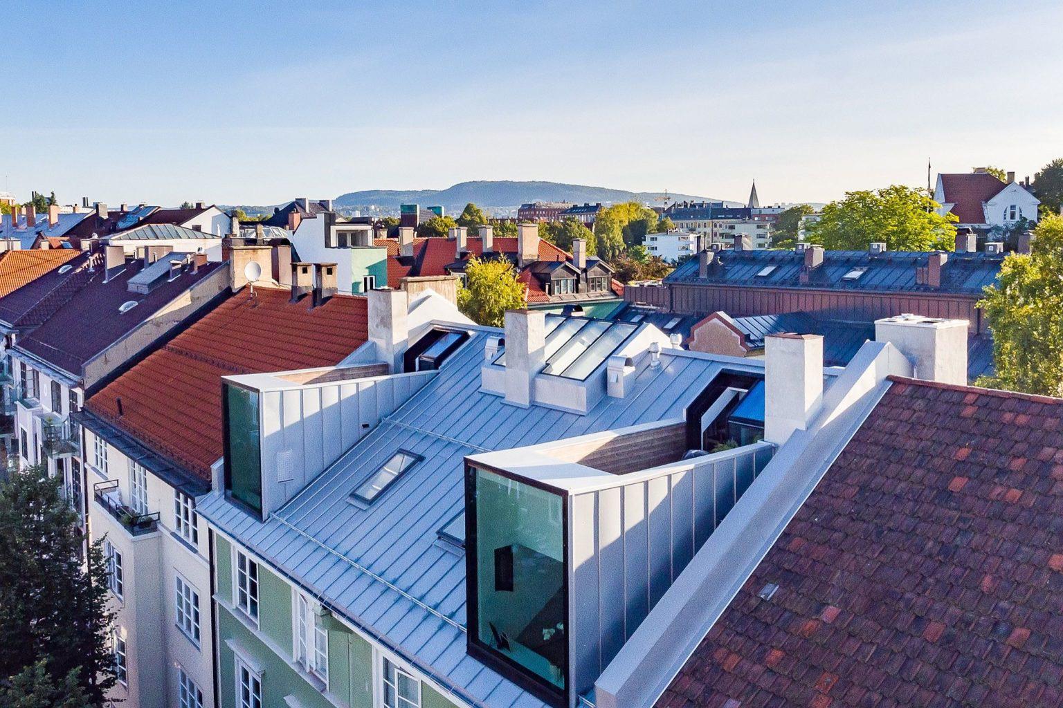 Biến hó gác xép cũ ở thành phố Oslo thành căn hộ hiện đại, xinh xắn mới thấy bạn đã phải chết mê - Ảnh 4.