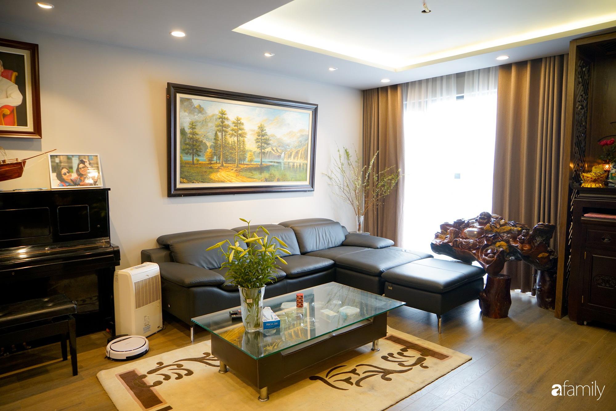 Căn hộ 116m2 hoàn thiện nội thất chưa đầy 1 tháng vẫn đẹp hiện đại, nền nã ở Cầu Giấy, Hà Nội - Ảnh 3.
