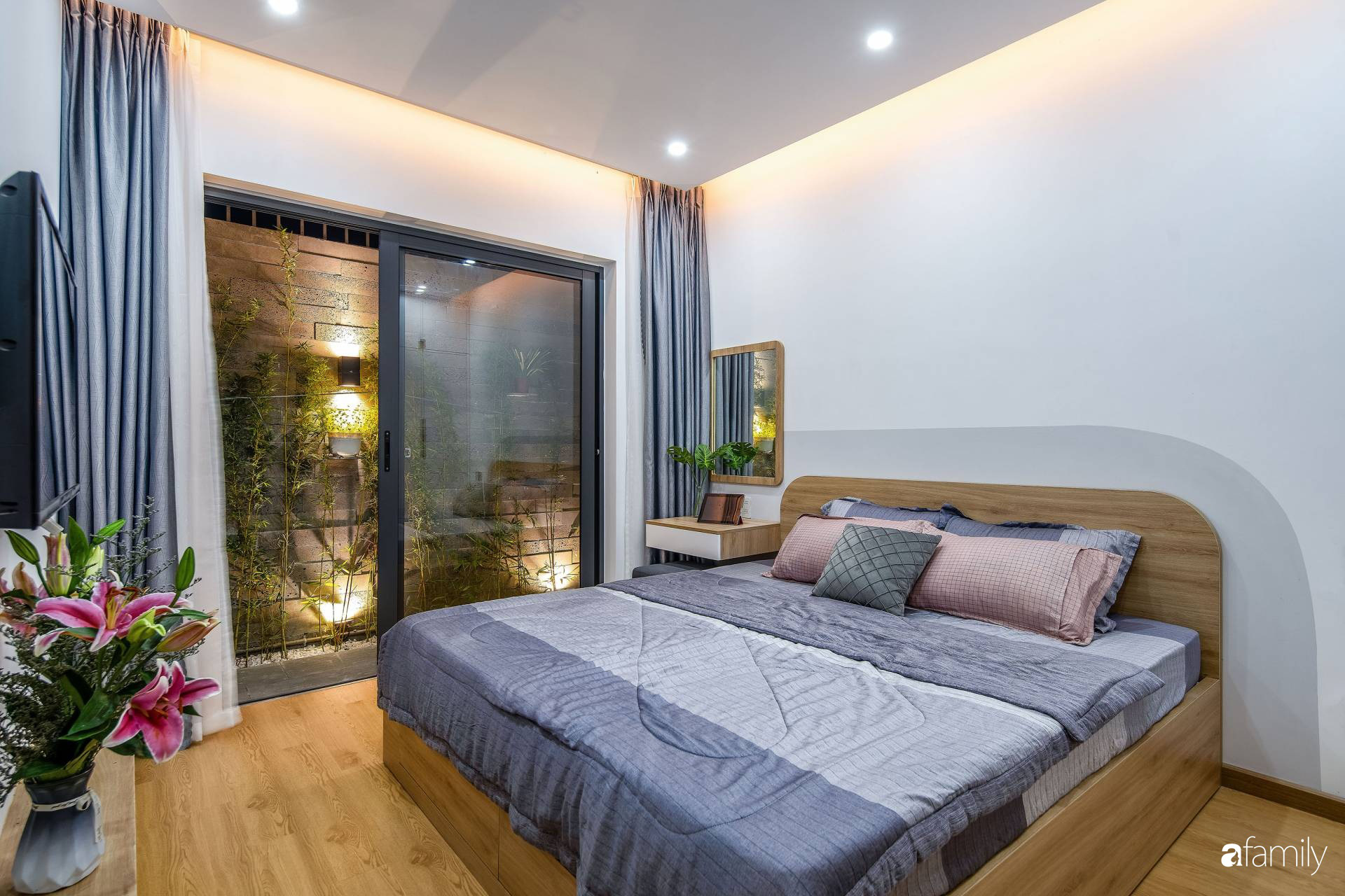 Ngôi nhà 100m2 thiết kế thông minh, tiện lợi dành cho gia đình 3 thế hệ ở Đà Nẵng - Ảnh 9.