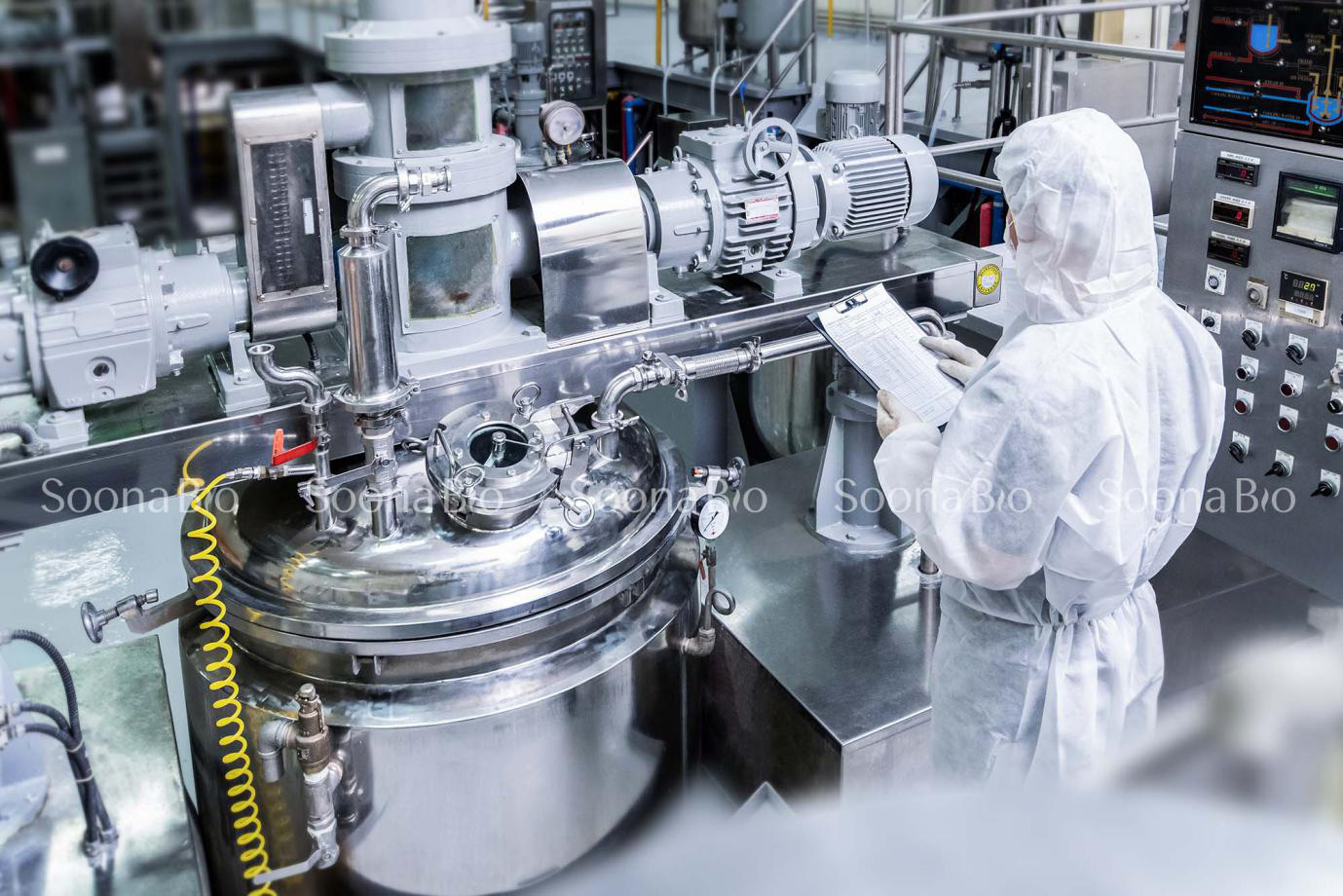 Tiên phong ứng dụng thành công công nghệ sinh học vào sản xuất tinh chất nhau thai cừu - Ảnh 1.