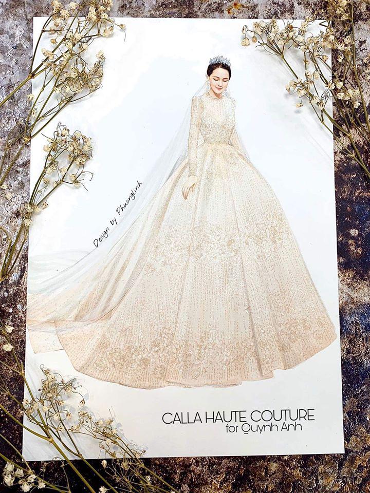 Váy cưới của Quỳnh Anh: Không phải vài trăm triệu mà những 1 tỉ đồng, nhưng trong mắt NTK bộ váy này là vô giá - Ảnh 5.