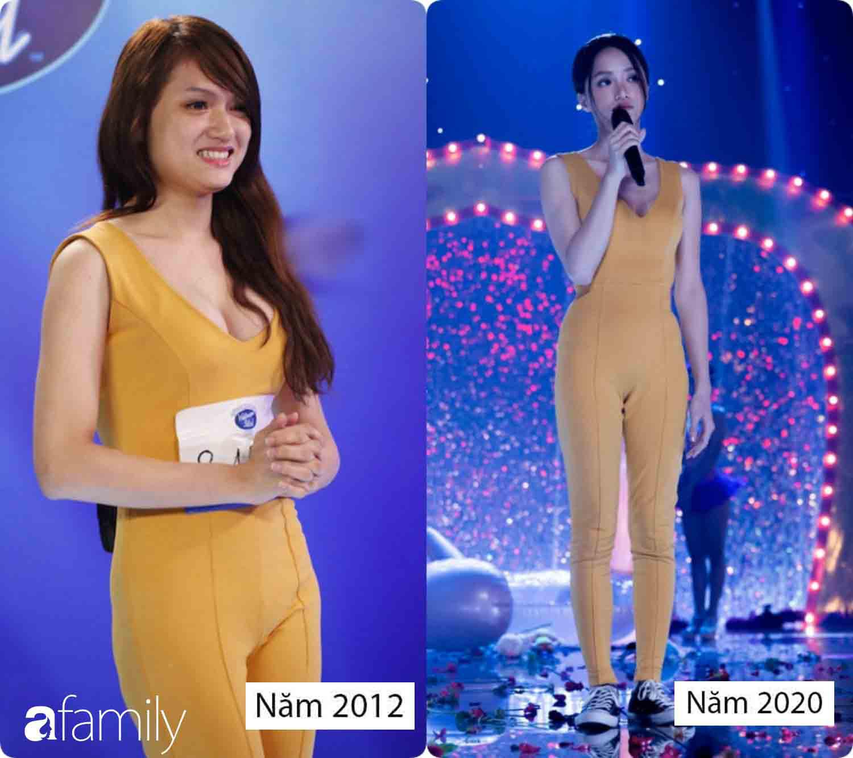 Diện lại bộ jumpsuit từ thời Việt Nam Idol, body gợi cảm quyến rũ và nhan sắc xinh đẹp của Hương Giang 8 năm sau mới là điều gây bất ngờ nhất - Ảnh 6.
