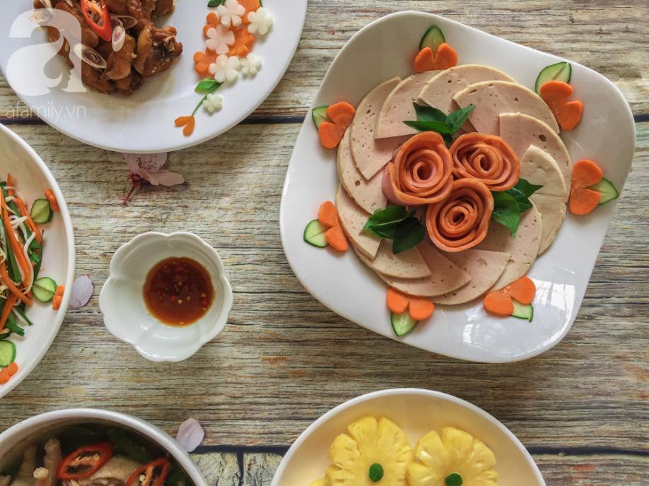 Mâm cơm cuối tuần 5 món đầy màu sắc, ngắm đã yêu - Ảnh 4.