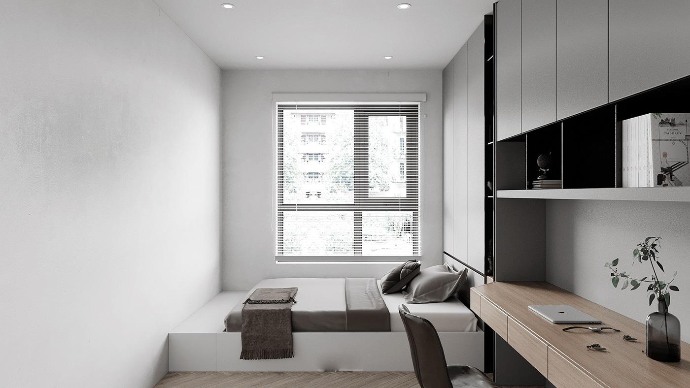 Tư vấn thiết kế nhà ở gi đình có đông thành viên với diện tích (3x10m), chi phí khoảng 670 triệu đồng - Ảnh 12.