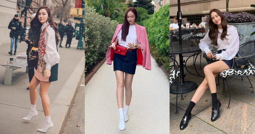 Kỹ năng chọn giày của Jessica khiến ai nấy đều bái phục: Cao có met 6 mà nhìn không thua gì met 7 - Ảnh 4.