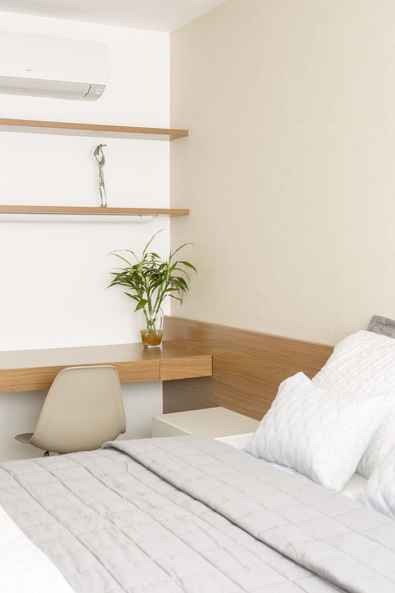 Căn hộ có thiết kế siêu yêu với tủ đa năng hoạt động như tủ quần áo, nơi ăn uống và nhiều thứ khác nữa… - Ảnh 3.