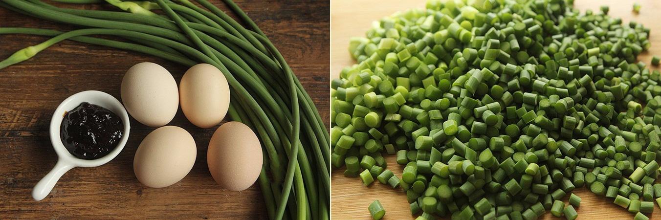 Thanh lọc cơ thể, phòng trừ cảm cúm cùng món trứng xào ngồng tỏi - Ảnh 1.