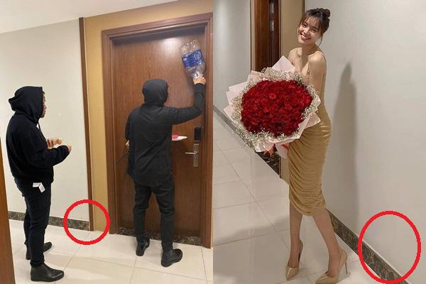 Ninh Dương Lan Ngọc khoe được tặng bó hoa to đùng dịp Valentine, netizen soi ngay được bằng chứng chụp tại nhà riêng của Chi Dân  - Ảnh 2.