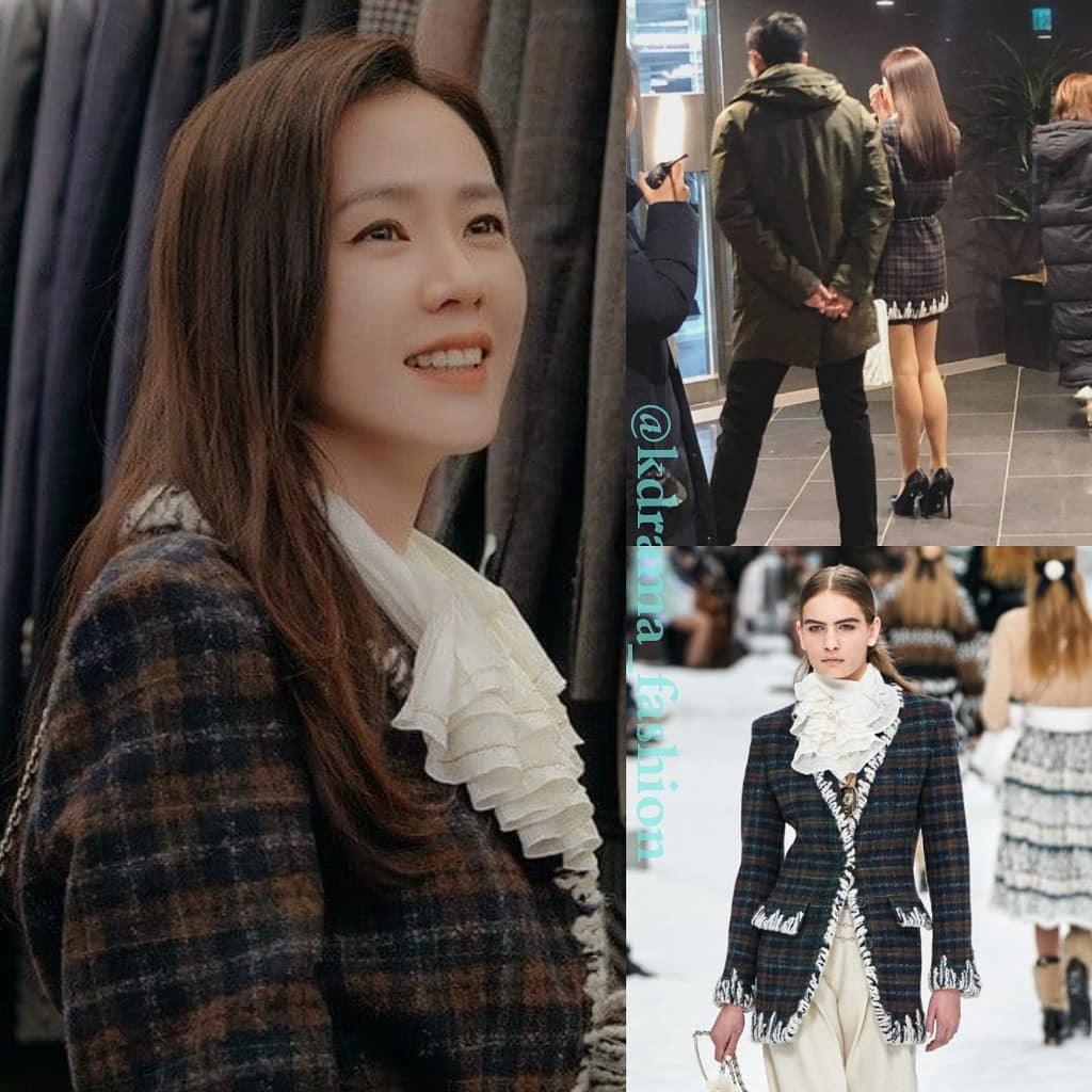 Vừa trở về Hàn Quốc ở tập 10, Se Ri đã vội lên đồ sang chảnh ngút ngàn, nhưng ngoài đời chị đẹp cũng chịu chi không kém với set đồ gần 80 triệu đồng - Ảnh 2.