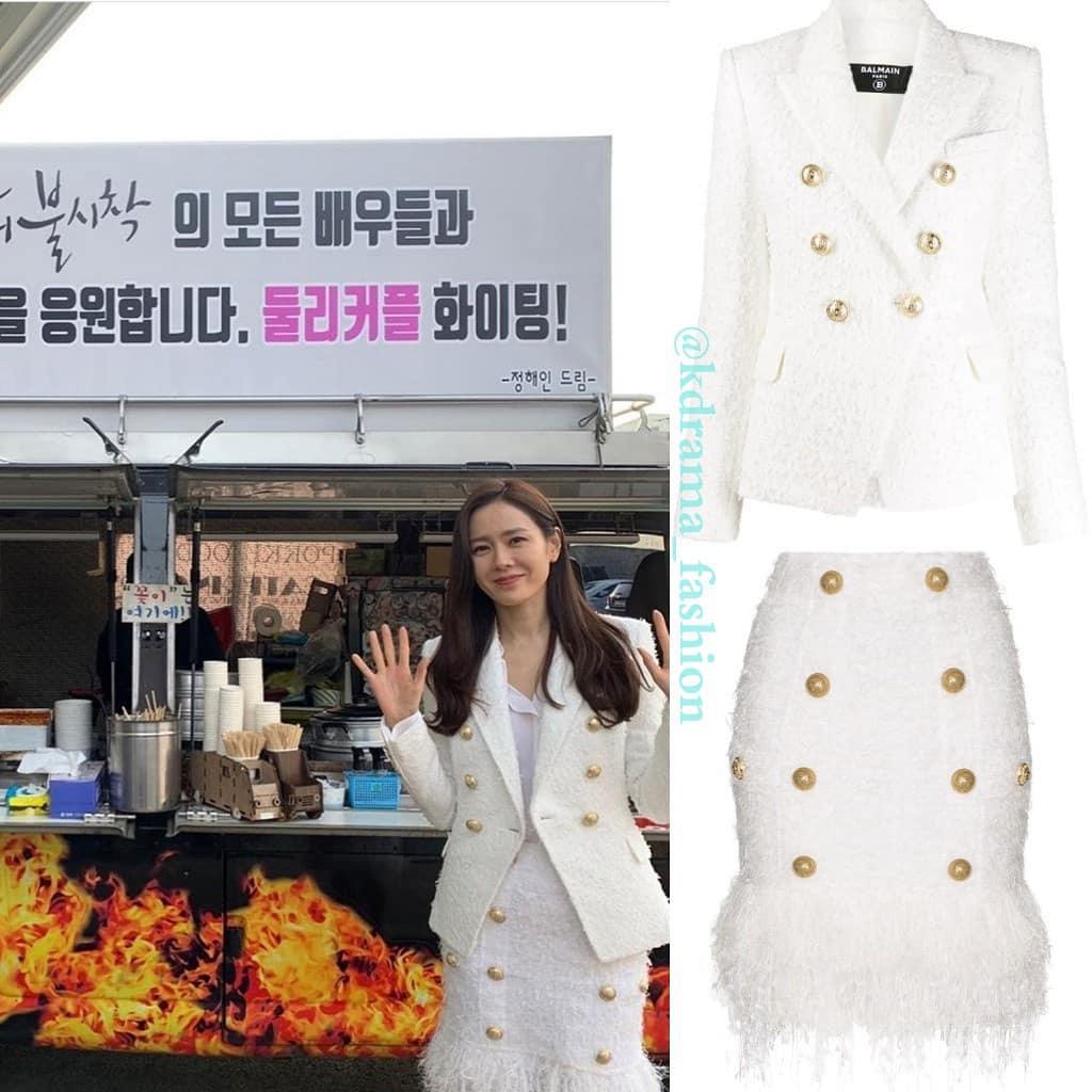 Vừa trở về Hàn Quốc ở tập 10, Se Ri đã vội lên đồ sang chảnh ngút ngàn, nhưng ngoài đời chị đẹp cũng chịu chi không kém với set đồ gần 80 triệu đồng - Ảnh 5.