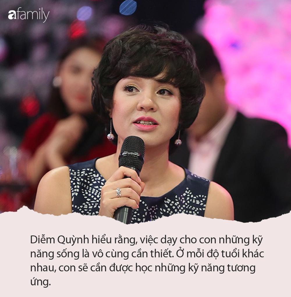 Ngoài sự nghiệp thành công, MC Diễm Quỳnh còn có cách dạy con đáng ngưỡng mộ - Ảnh 2.