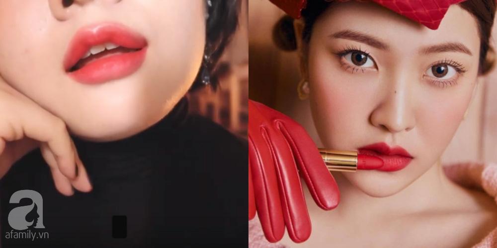 Review son của Yeri (Red Velvet): Vỏ xịn sò, son lì không khô nhưng có 1 màu son khác với ảnh quảng cáo  - Ảnh 5.