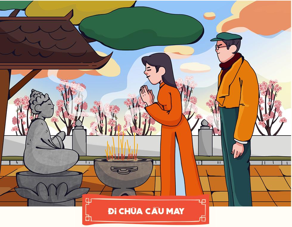 Phong tục lấy may đầu năm: Nét đẹp văn hóa ngàn đời hay câu chuyện người Việt Nam luôn tin tưởng vào một tương lai tươi sáng - Ảnh 14.