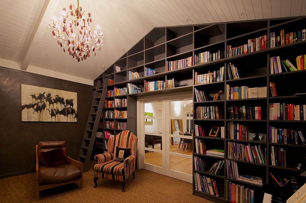 Tối đa hóa không gian trong ngôi nhà của bạn cực bắt mắt với kệ tích hợp thông minh xung quanh ô cửa - Ảnh 4.