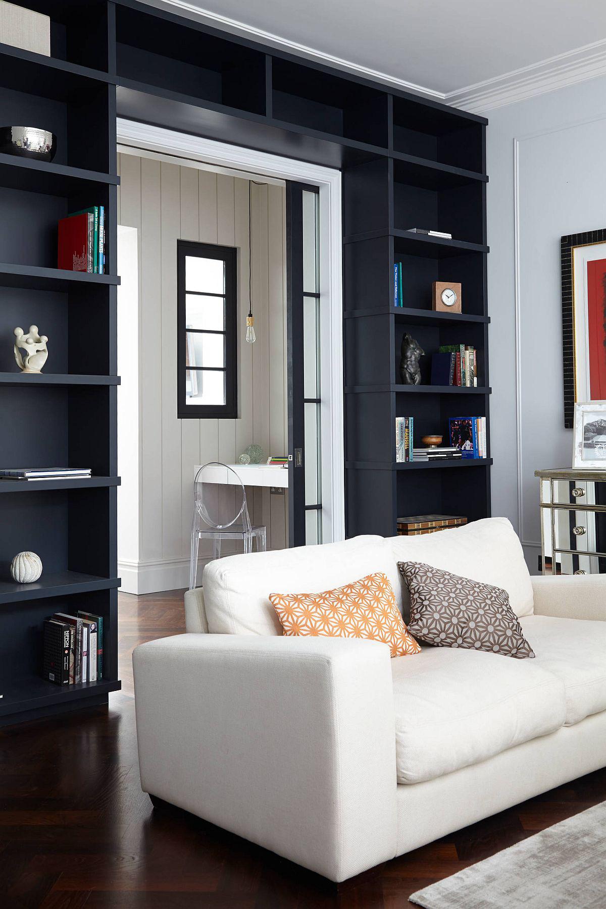 Tối đa hóa không gian trong ngôi nhà của bạn cực bắt mắt với kệ tích hợp thông minh xung quanh ô cửa - Ảnh 6.
