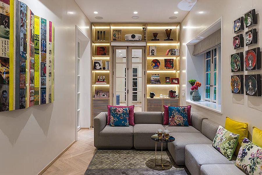 Tối đa hóa không gian trong ngôi nhà của bạn cực bắt mắt với kệ tích hợp thông minh xung quanh ô cửa - Ảnh 8.