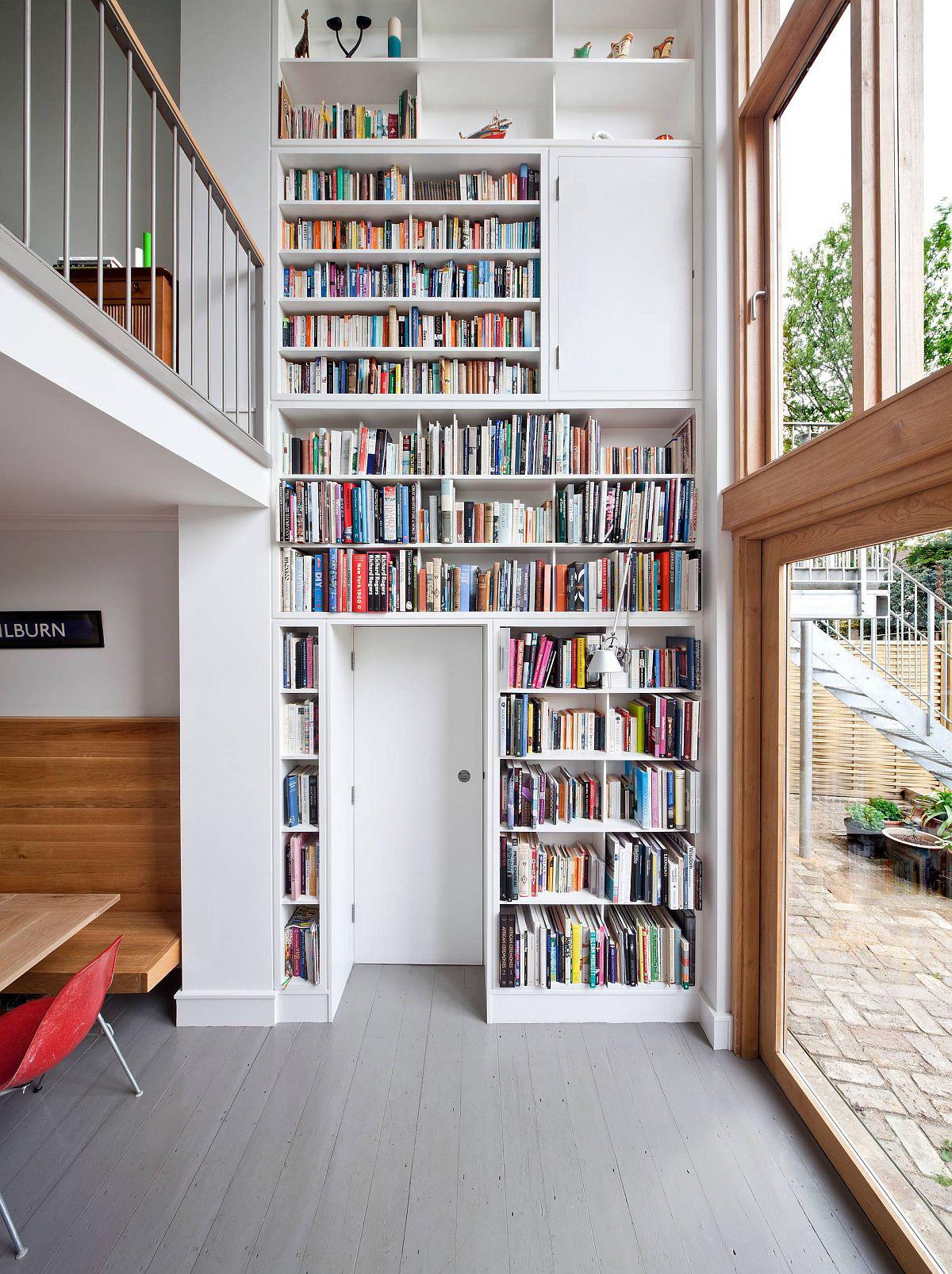 Tối đa hóa không gian trong ngôi nhà của bạn cực bắt mắt với kệ tích hợp thông minh xung quanh ô cửa - Ảnh 10.