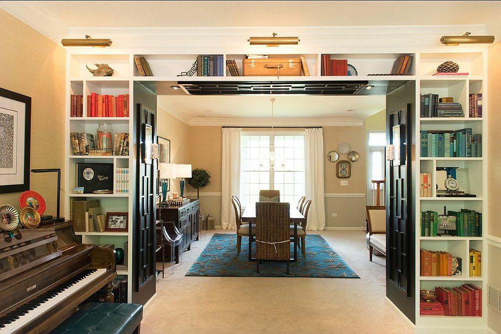 Tối đa hóa không gian trong ngôi nhà của bạn cực bắt mắt với kệ tích hợp thông minh xung quanh ô cửa - Ảnh 11.