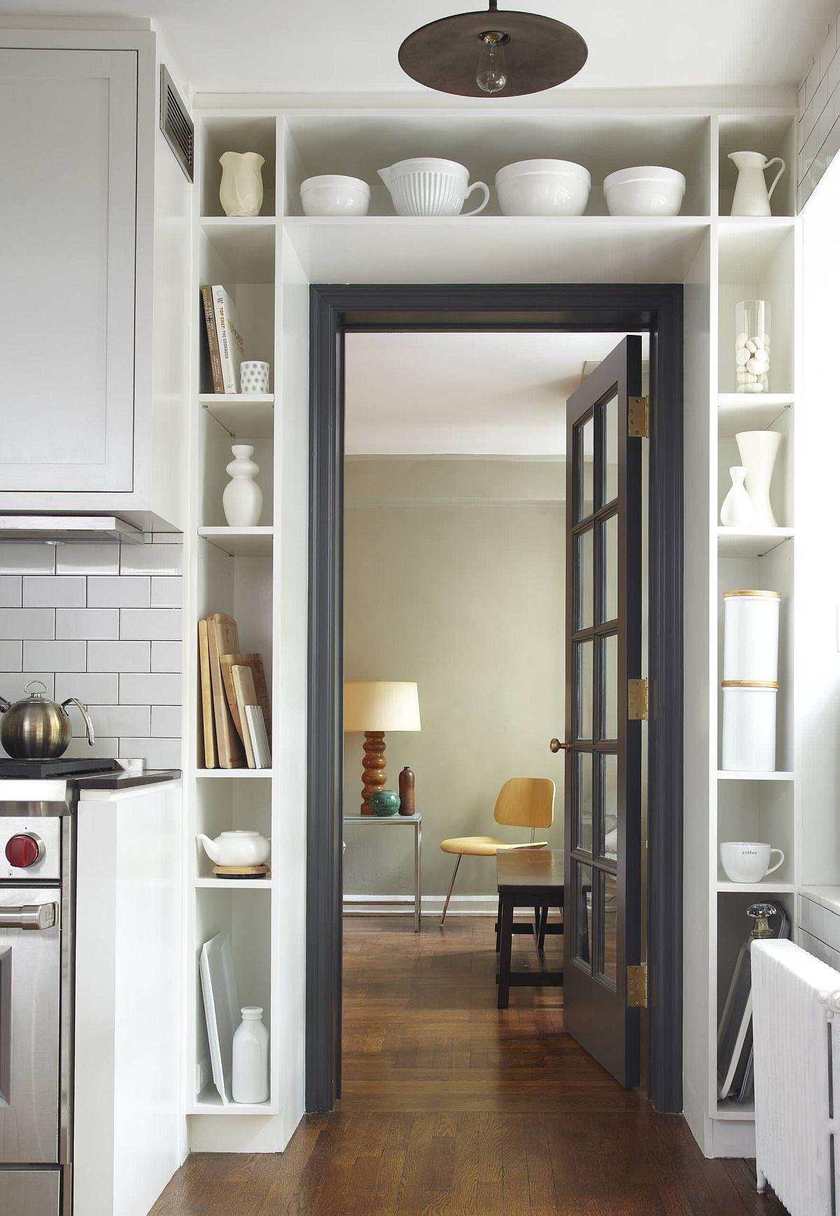 Tối đa hóa không gian trong ngôi nhà của bạn cực bắt mắt với kệ tích hợp thông minh xung quanh ô cửa - Ảnh 12.