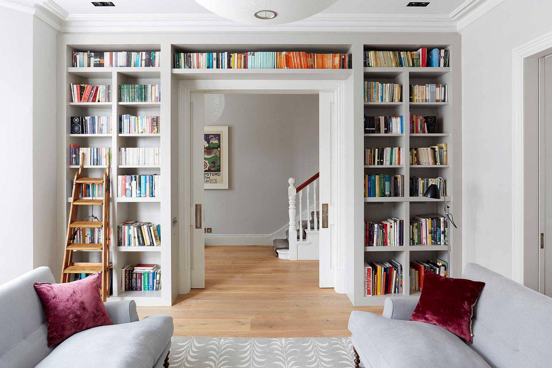 Tối đa hóa không gian trong ngôi nhà của bạn cực bắt mắt với kệ tích hợp thông minh xung quanh ô cửa - Ảnh 13.