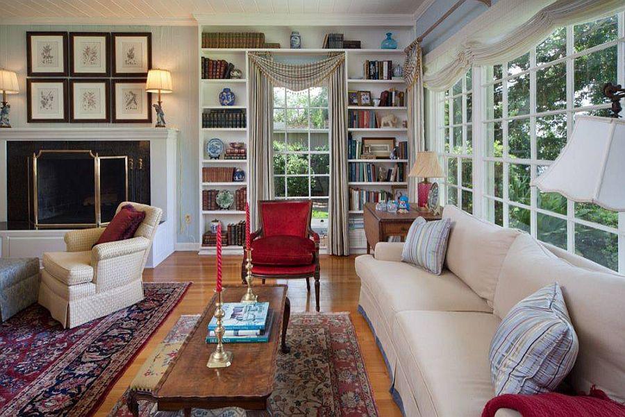 Tối đa hóa không gian trong ngôi nhà của bạn cực bắt mắt với kệ tích hợp thông minh xung quanh ô cửa - Ảnh 14.