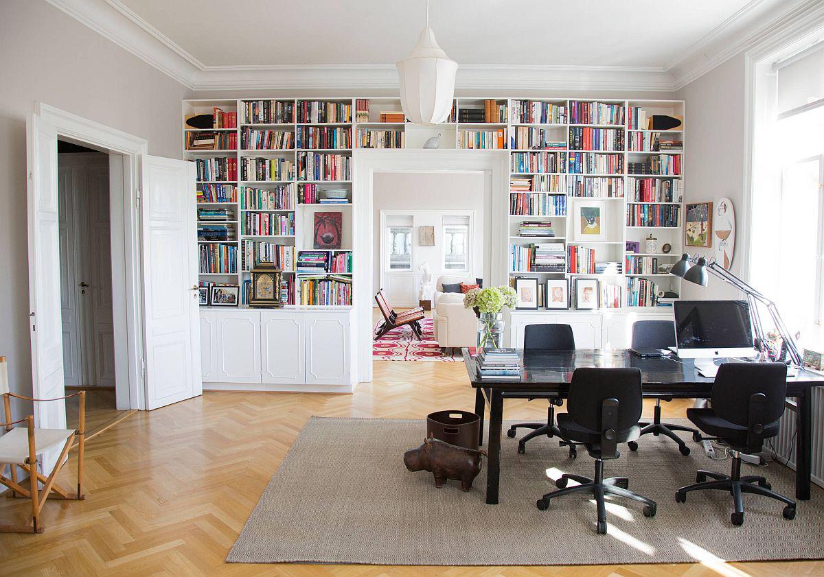 Tối đa hóa không gian trong ngôi nhà của bạn cực bắt mắt với kệ tích hợp thông minh xung quanh ô cửa - Ảnh 15.