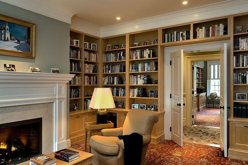 Tối đa hóa không gian trong ngôi nhà của bạn cực bắt mắt với kệ tích hợp thông minh xung quanh ô cửa - Ảnh 16.