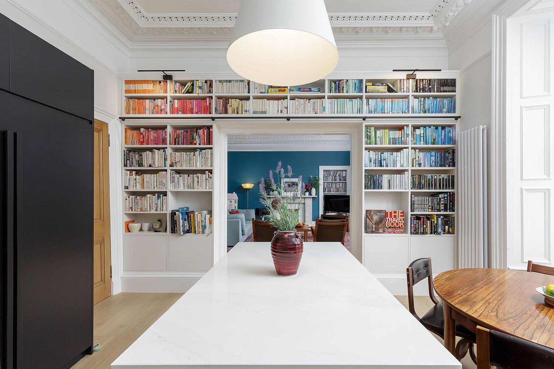 Tối đa hóa không gian trong ngôi nhà của bạn cực bắt mắt với kệ tích hợp thông minh xung quanh ô cửa - Ảnh 19.