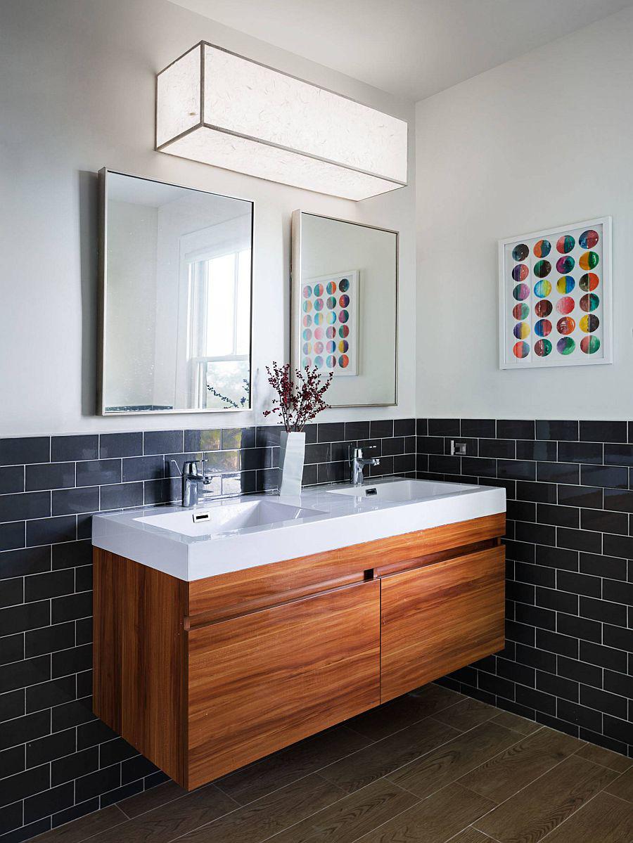 Xu hướng phòng tắm cho năm 2020: 25 ý tưởng và cảm hứng cho năm mới - Ảnh 8.