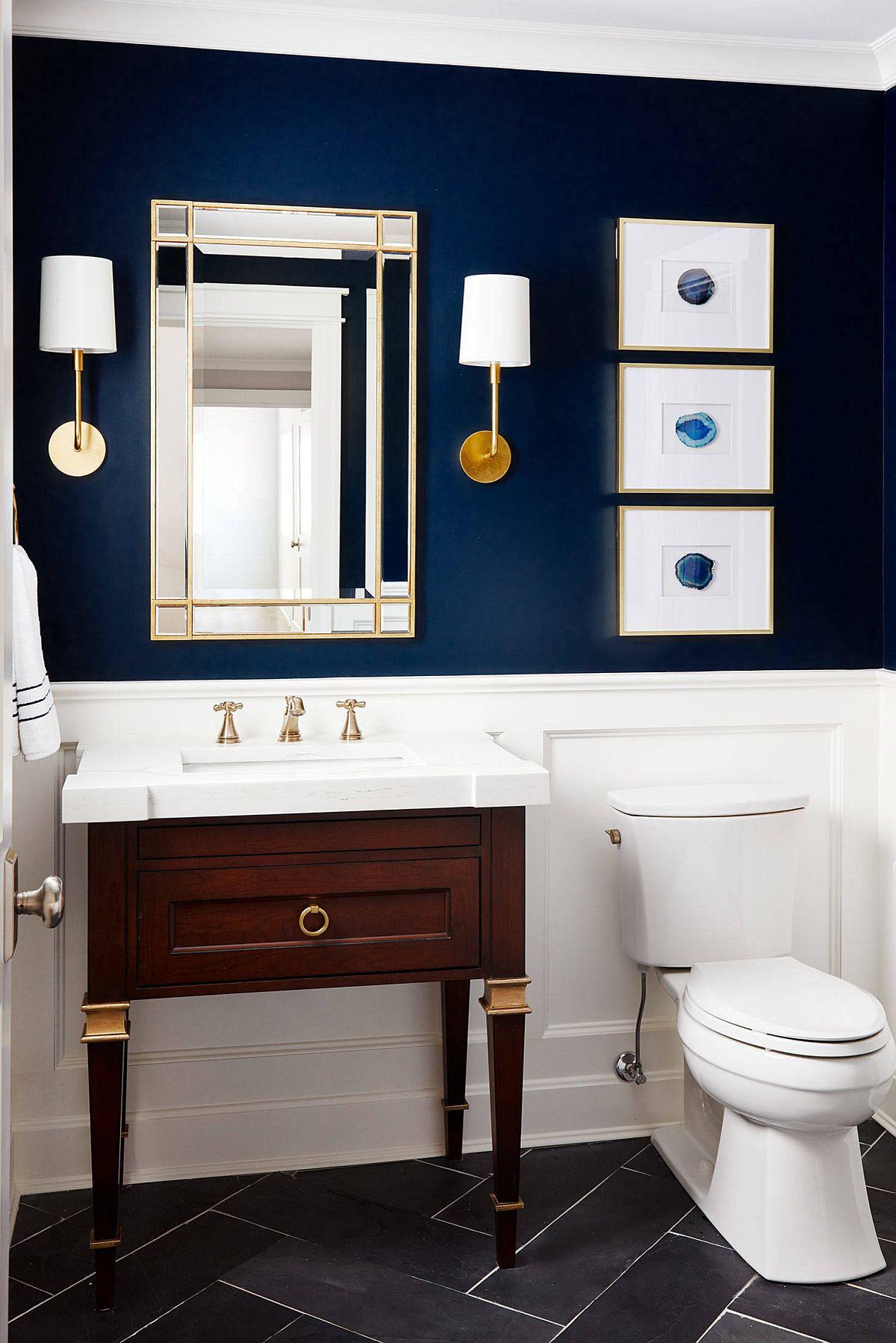 Xu hướng phòng tắm cho năm 2020: 25 ý tưởng và cảm hứng cho năm mới - Ảnh 2.