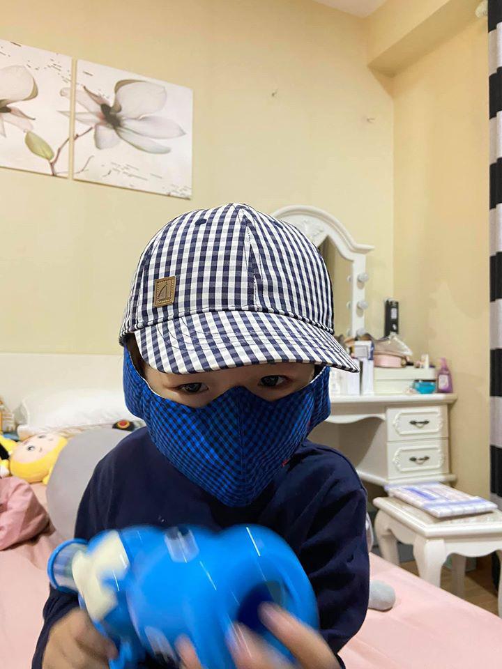 Kỳ Hân tức tốc đóng cửa hàng, chấp nhận chịu lỗ hàng chục triệu đồng chỉ vì lo con trai bị dịch bệnh virus corona - Ảnh 2.
