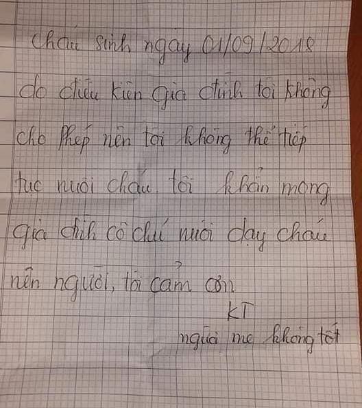 lá thư của người mẹ