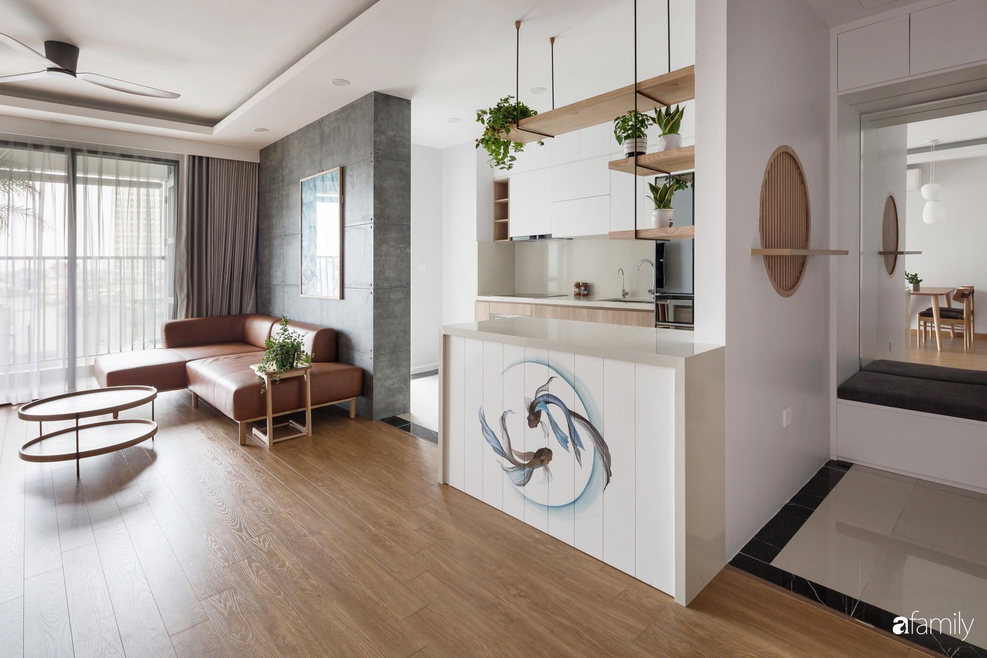 Căn hộ tối giản hút hồn từng mét vuông cho gia đình 6 người ở Minh Khai, Hà Nội - Ảnh 5.