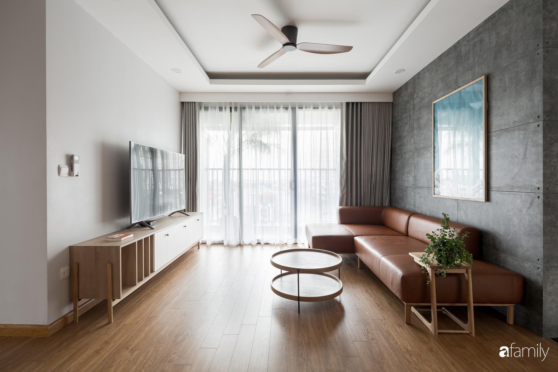 Căn hộ tối giản hút hồn từng mét vuông cho gia đình 6 người ở Minh Khai, Hà Nội - Ảnh 2.