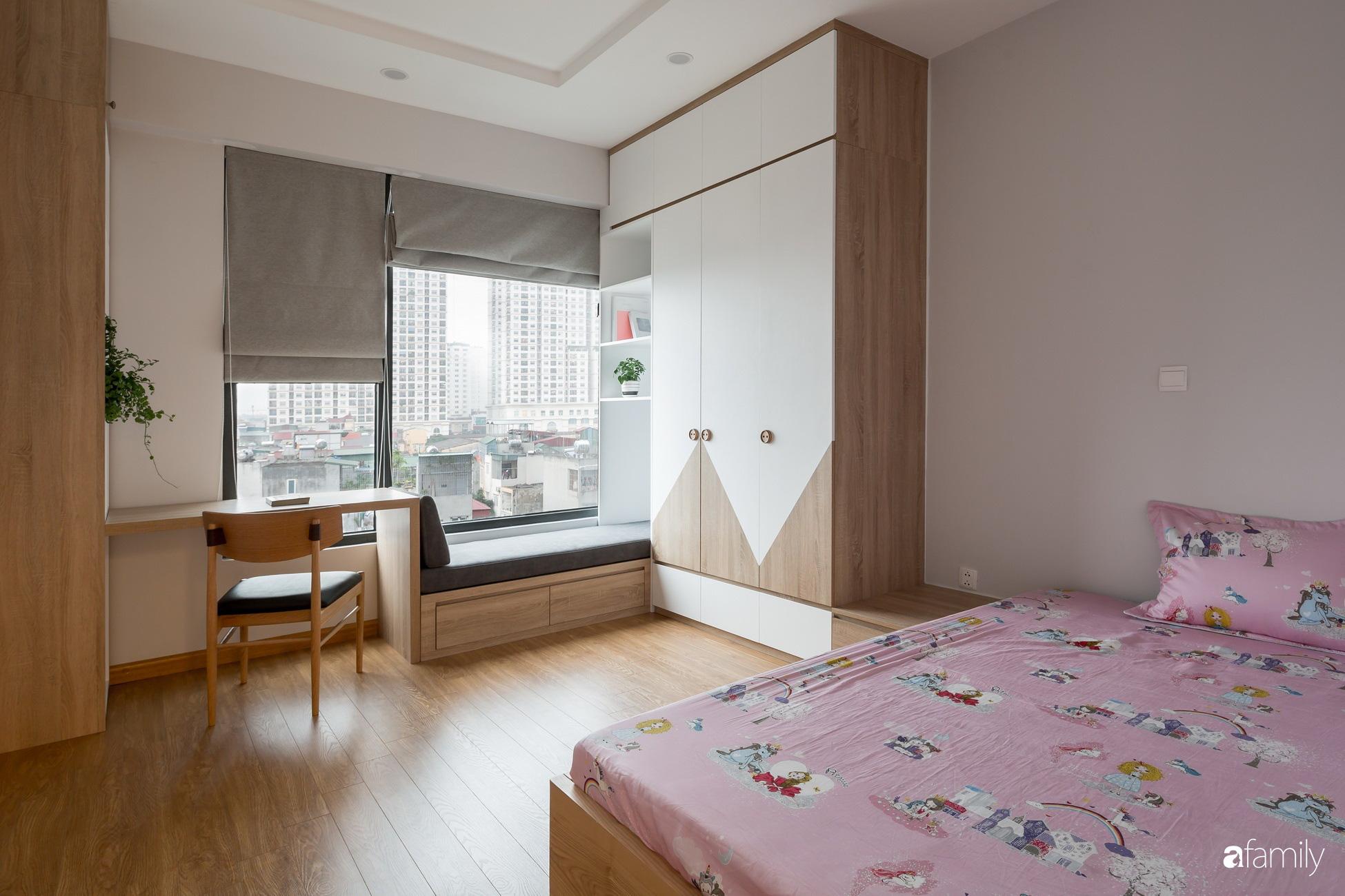 Căn hộ tối giản hút hồn từng mét vuông cho gia đình 6 người ở Minh Khai, Hà Nội - Ảnh 11.