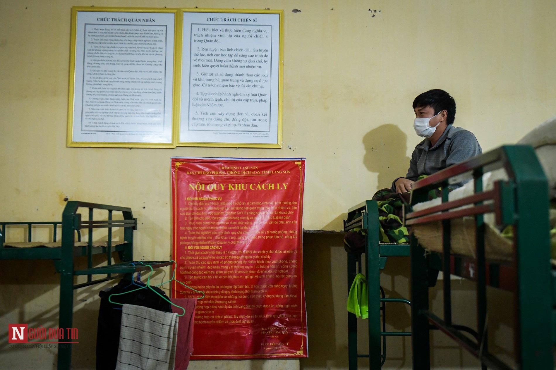 Bên trong khu vực cách ly công dân Việt Nam trờ về từ Trung Quốc - Ảnh 9.