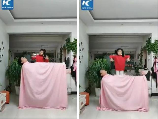 Cười té ghế khi xem clip bố mẹ Trung Quốc làm gì khi phải ở nhà trông con mùa dịch bệnh - Ảnh 2.