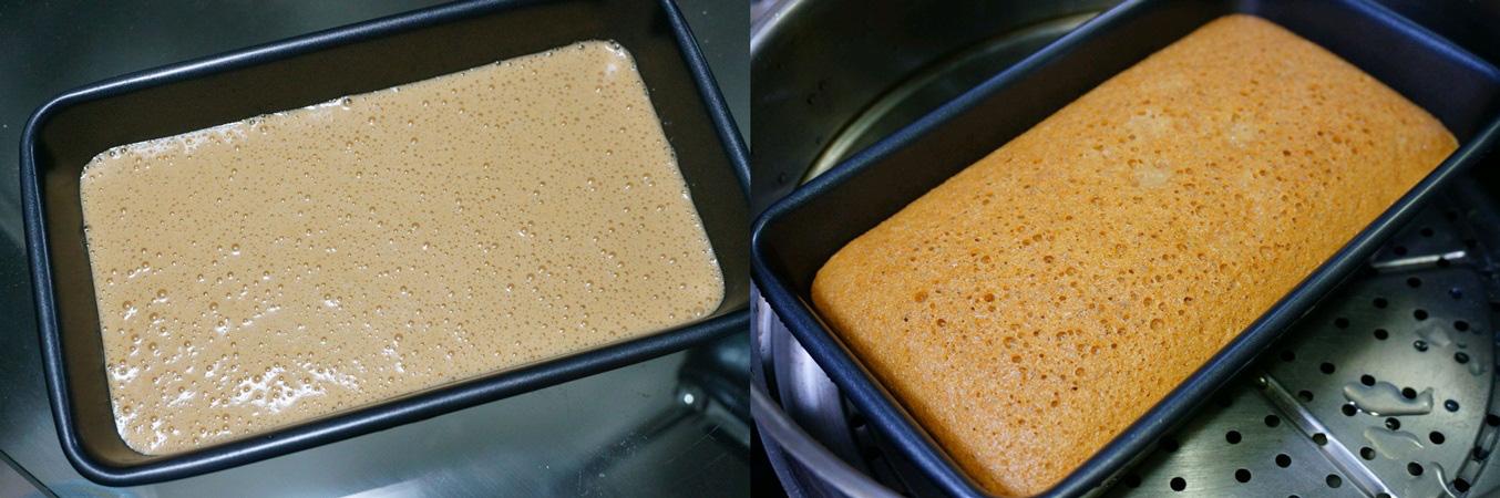 Không cần lò nướng, tôi vẫn làm được món bánh bông lan xốp mềm ngon tuyệt - Ảnh 4.