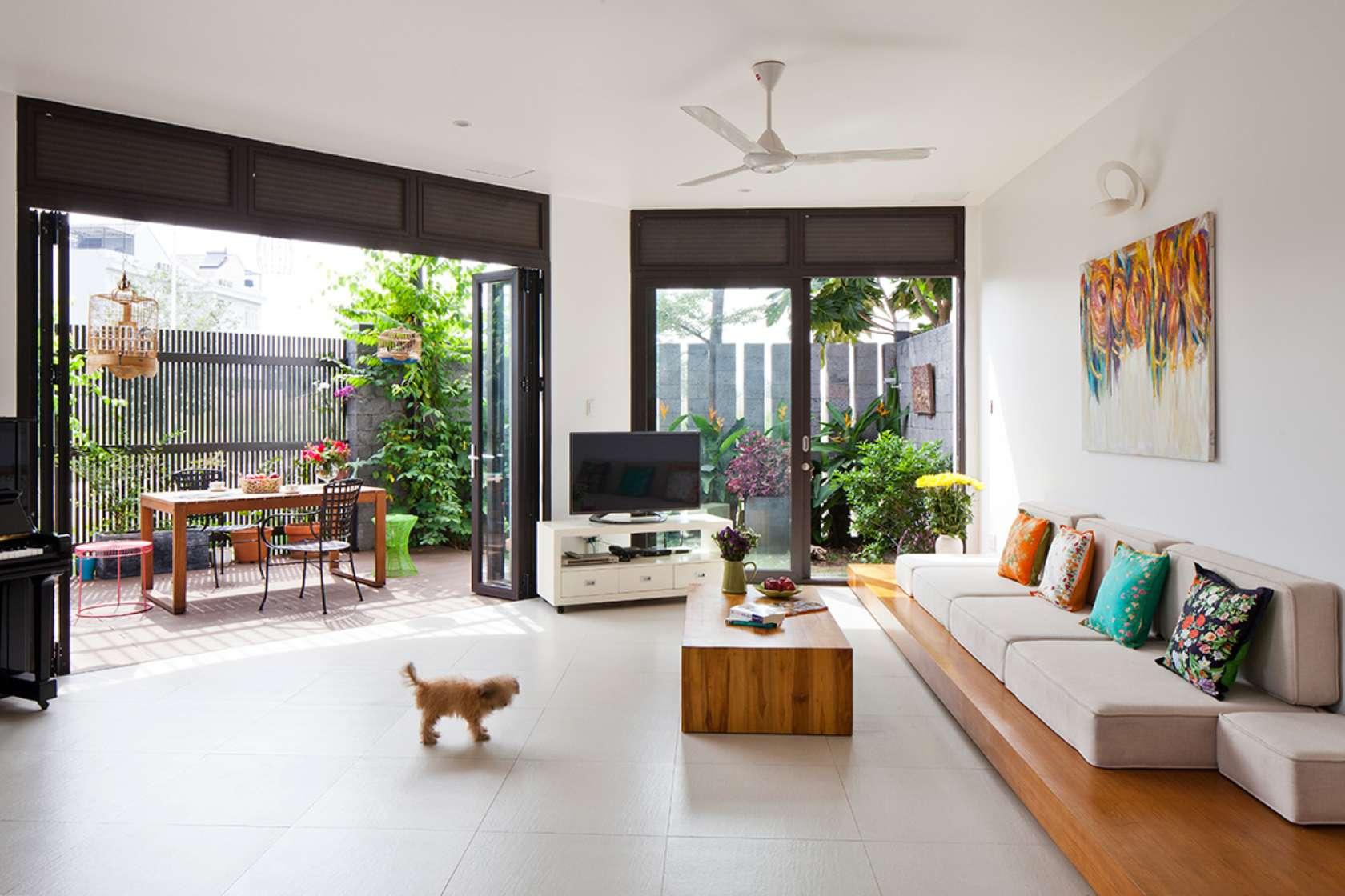 ngoi nha ngoai o sai thanh khien bao tay khong tiec loi khen ngoi da67d40b6c - D2 Town House Ngôi nhà có sân vườn cực đẹp ở Sài Gòn