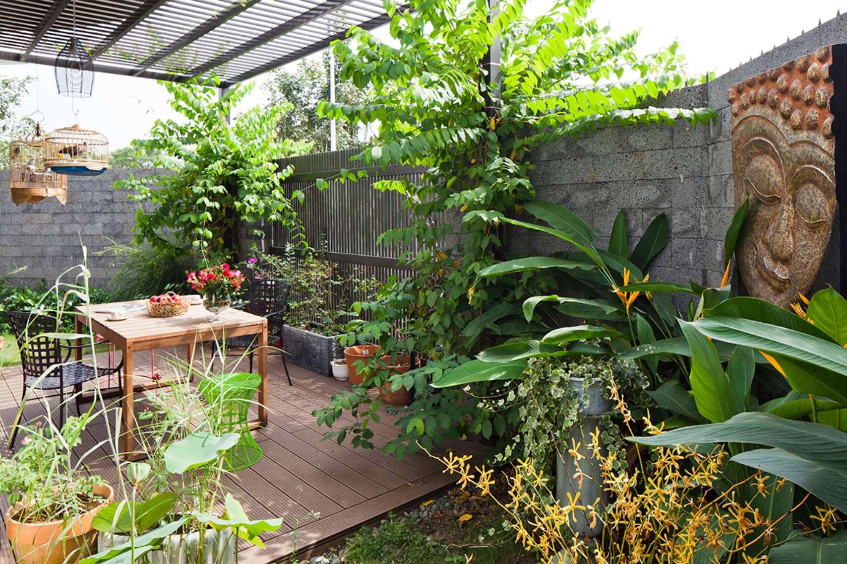 ngoi nha ngoai o sai thanh khien bao tay khong tiec loi khen ngoi e5a1476066 - D2 Town House Ngôi nhà có sân vườn cực đẹp ở Sài Gòn