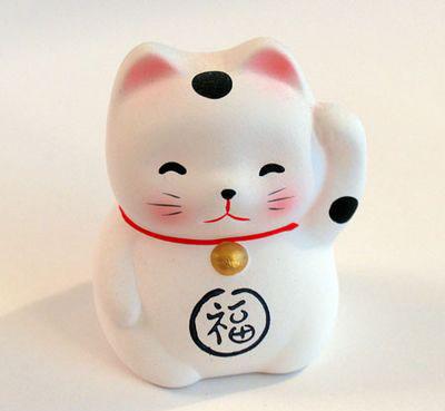 Chú Mèo Tài Lộc Cho Năm Mới May Mắn