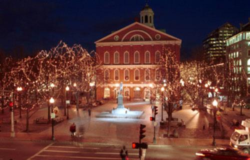 Khám phá Giáng Sinh ở New England