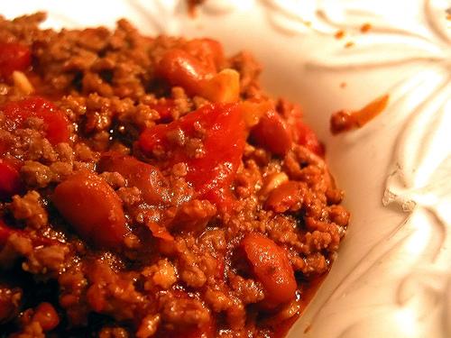 Thịt băm xốt cà chua