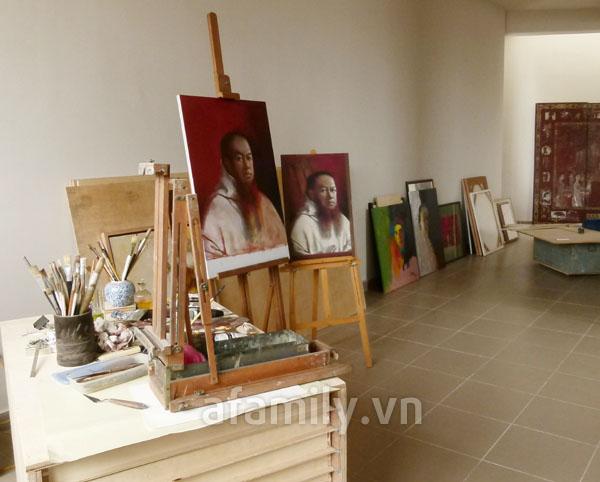 Ngôi nhà vintage tuyệt đẹp của gia đình họa sĩ